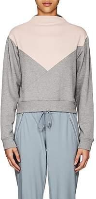 Vaara Women's Cleo Cotton Crop Sweatshirt - Gray