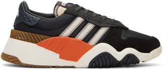 adidas by Alexander Wang Black Turnout Sneakers