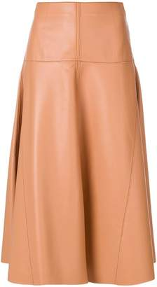 Fendi flared midi skirt