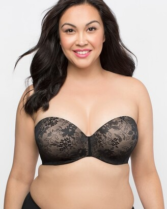 Curvy Couture Strapless Multiway Push Up