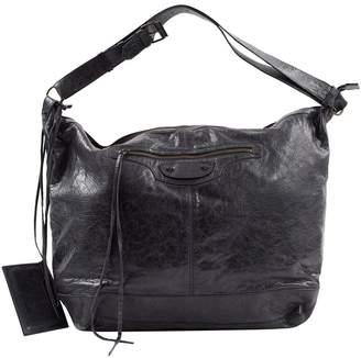 Balenciaga Navy Patent leather Handbag