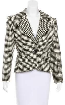 Saint Laurent Vintage Houndstooth Blazer