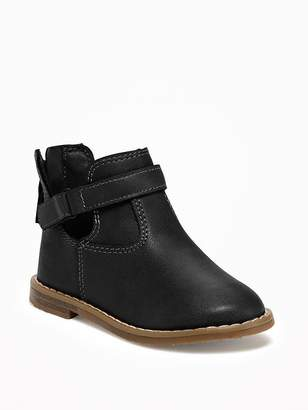 Old Navy Ankle-Strap Boots for Toddler Girls