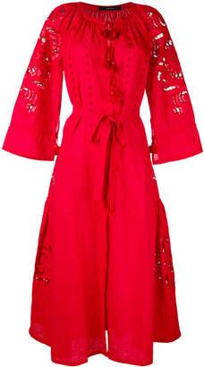 DAY Birger et Mikkelsen Vita Kin perforated trim wrap dress