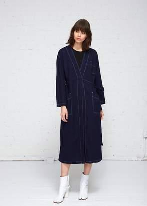 MM6 MAISON MARGIELA Raw Denim Coat