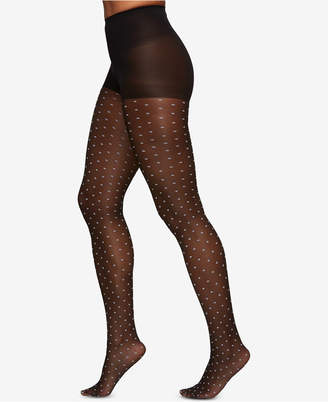 Berkshire Women Two-Tone Polka Dot Pantyhose 8033