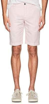 Pt01 Men's Linen-Cotton Bermuda Shorts - Pink