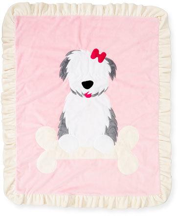 Boogie BabyBoogie Baby Puppy Love Plush Baby Blanket