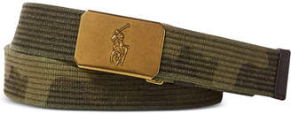 Polo Ralph Lauren Men's Camouflage Webbed Belt
