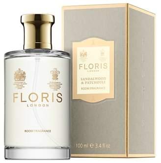 Floris Sandalwood & Patchouli Room Fragrance, 100ml