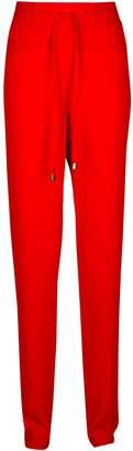Dorothy Perkins Womens **Tall Red Plain Joggers