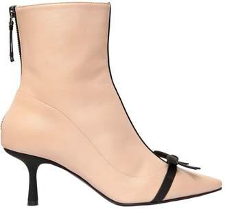 65mm Mademoiselle Deneuve Leather Boots