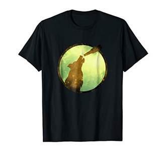 Shadow Wolf Moon Drink Beer T-shirt
