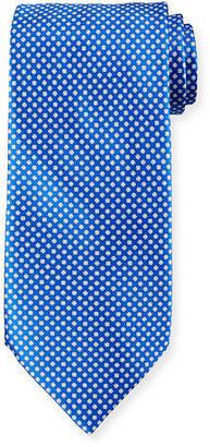 Stefano Ricci Neat Printed Silk Tie $250 thestylecure.com