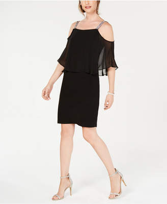 MSK Popover Shift Dress