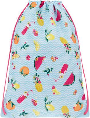 Monsoon Fruity Drawstring Bag