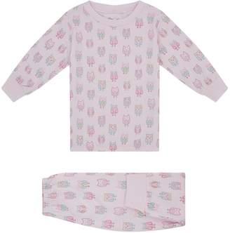 Kissy Kissy Owl Print Pyjamas