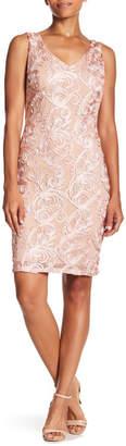 Marina Twisted Embroidery Dress