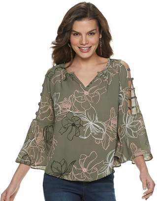 fcfec2389b6ff0 JLO by Jennifer Lopez Green Women s Tops - ShopStyle