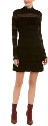 Ella Moss Ruffle Lace Shift Dress