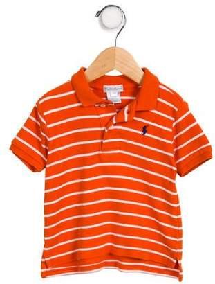 Ralph Lauren Boys' Striped Short Sleeve Shirt