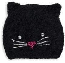 San Diego Hat Company Beaded Kitty Beanie