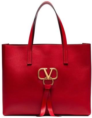 Valentino Garavani large VRING leather tote bag