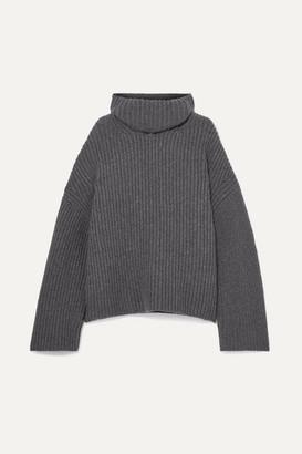 786eea006 Women Turtleneck Charcoal Sweater - ShopStyle