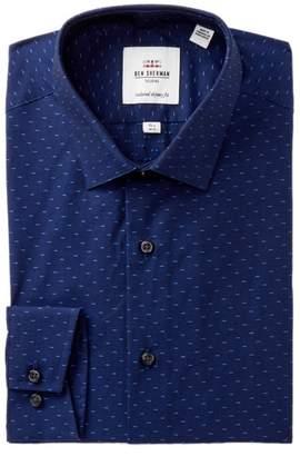 Ben Sherman Skinny Fit Clip Spot Soho Dress Shirt