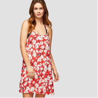 5092397fe74ce at Joe Fresh · Joe Fresh Women s Floral Strappy Swim Cover Up Dress