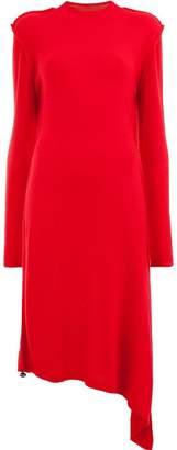 Aalto asymmetrical dress