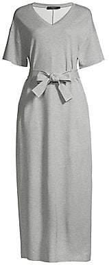 Max Mara Women's Mana Tie-Front T-Shirt Dress