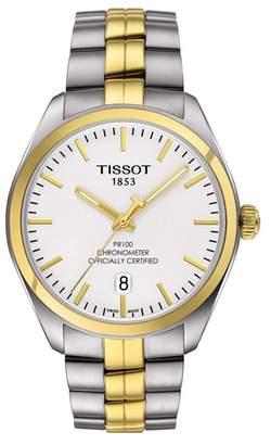 Tissot Men's PR 100 Bracelet Watch, 39mm