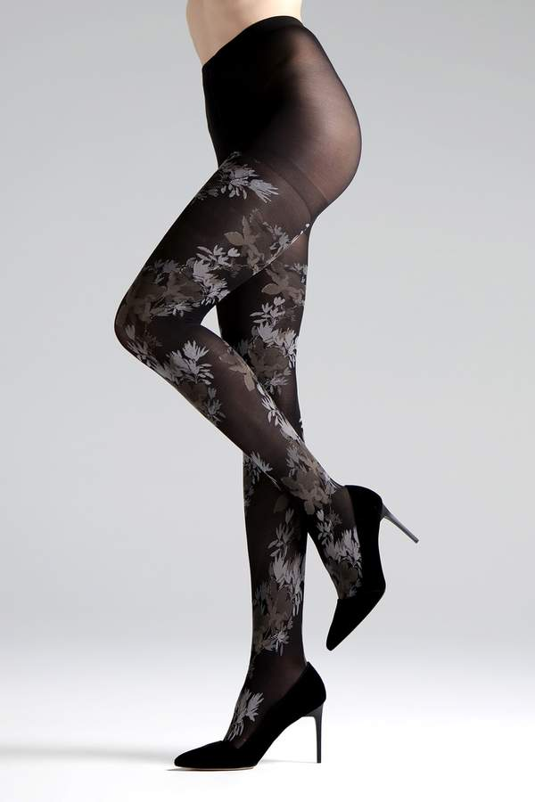 Natori Brushed Deco Opaque Tights