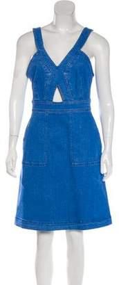Stella McCartney Denim Knee-Length Dress