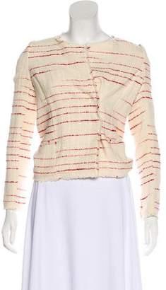 Etoile Isabel Marant Striped Tweed Jacket w/ Tags