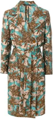 Tagliatore jacquard double-breasted coat