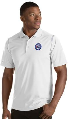Antigua Men's Philadelphia 76ers Merit Polo