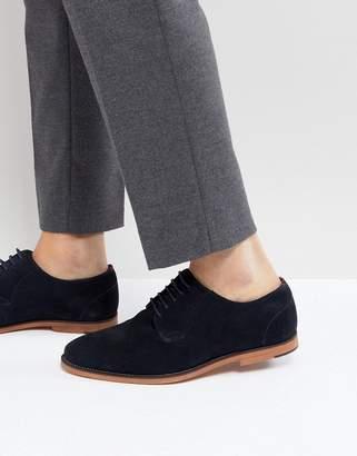 WALK LONDON Walk London Paul Suede Lace Up Shoes In Navy