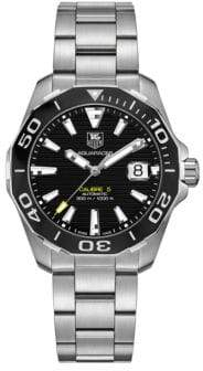Tag Heuer Aquaracer Stainless Steel Automatic Diver Watch, WAY211A. BA092