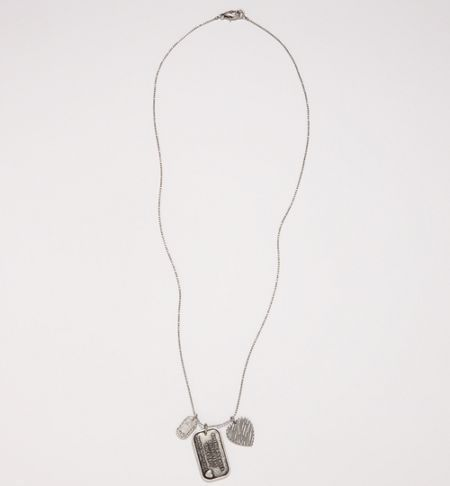 AE Long Tag Necklace