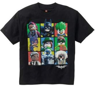 Lego Batman Boys' Batman Movie Group Graphic Tee