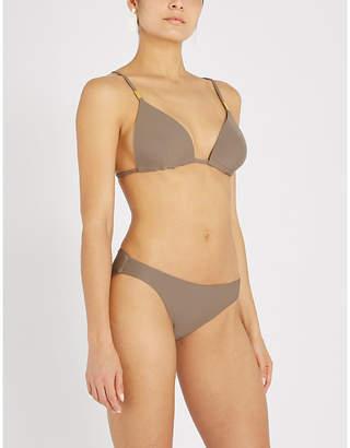 Calvin Klein Core Solids triangle bikini top