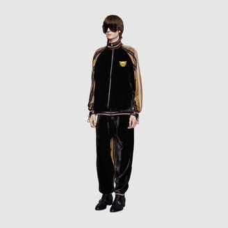 Gucci Bi-material jacket