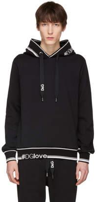Dolce & Gabbana Black Logo Hoodie