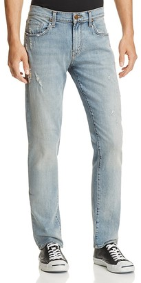 J Brand Tyler Slim Fit Jeans in Hawking $228 thestylecure.com