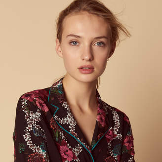 Sandro All-over floral print shirt