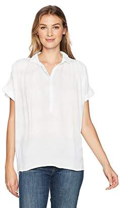 Bandolino Women's Bianca Short Sleeve High Low Hem Top