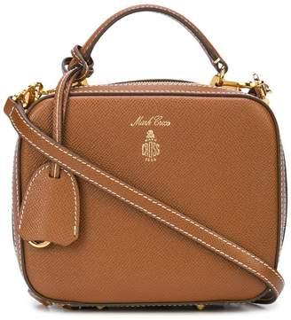 Mark Cross vintage style tote-like satchel
