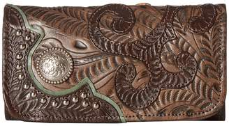 American West Annie's Secret Collection Trifold Wallet Wallet Handbags